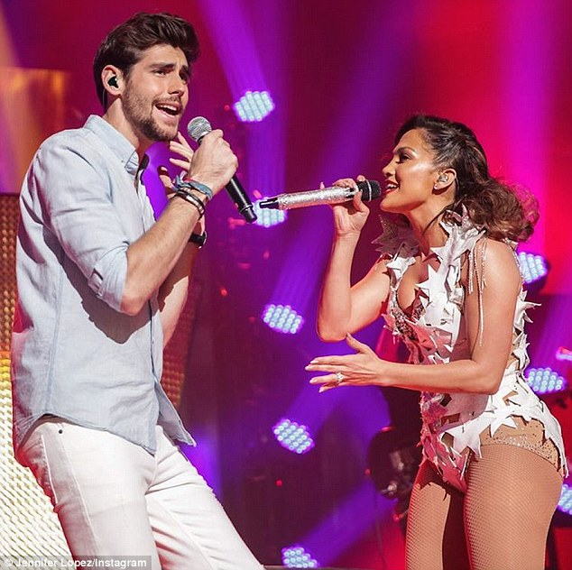 Still owning it: While the Love Don't Cost a Thing songstress gears up for her first Las Vegas residency, she continues to enjoy much chart success. Most recently, she celebrated reaching the top of the Latin Billboard charts with new single El Mismo Sol - a collaboration with Spanish artist Alvaro Sole