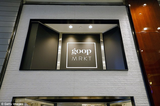One-off: Thieves made off with $173,000 worth of merchandise on Saturday. The Goop Mrkt will close on 24 December