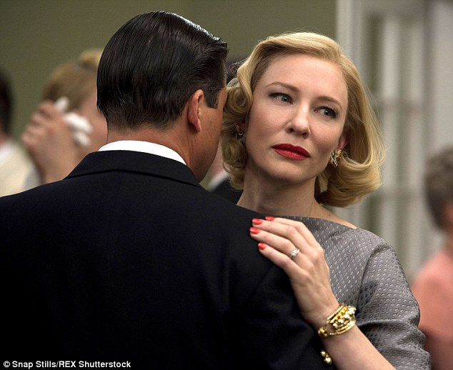 Golden girl! The Hollywood starlet has had a brilliant year so far, not only having received a Golden Globe nomination for her role in Carol but also a Screen Actors Guild nomination for Outstanding Performance