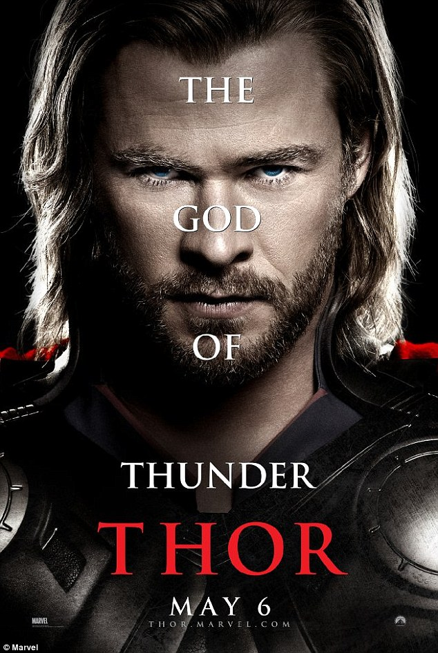Movie magic! The first installment of the franchise, Thor: God of Thunder was released in 2011