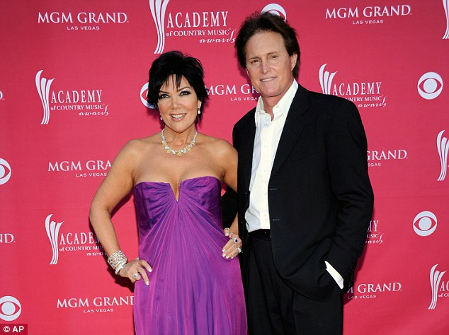 Lost love: Kris split with second husband Caitlyn Jenner, here as Bruce Jenner in 2009, in 2013