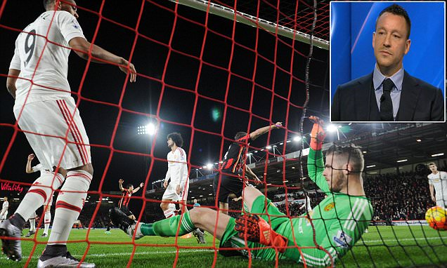 David de Gea will be 'disappointed' with early error during Manchester United's defeat by
