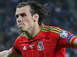 Football - Israel v Wales - UEFA Euro 2016 Qualifying Group B - Haifa International Stadium, Haifa, Israel - 28/3/15.   Gareth Bale celebrates after scoring the second goal for Wales  Wales won the game 3-0.    Action Images via Reuters / Matthew Childs  Livepic  EDITORIAL USE ONLY.