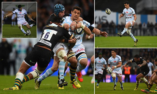 Racing 92 33-3 Northampton: Dan Carter steers sky blues to bonus point win over Saints in