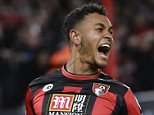 """Football Soccer - AFC Bournemouth v Manchester United - Barclays Premier League - Vitality Stadium - 12/12/15  Joshua King celebrates after scoring the second goal for Bournemouth  Reuters / Toby Melville  Livepic  EDITORIAL USE ONLY. No use with unauthorized audio, video, data, fixture lists, club/league logos or """"live"""" services. Online in-match use limited to 45 images, no video emulation. No use in betting, games or single club/league/player publications.  Please contact your account representative for further details."""