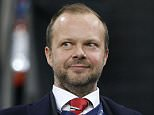 Football Soccer - VfL Wolfsburg v Manchester United - UEFA Champions League Group Stage - Group B - Volkswagen-Arena, Wolfsburg, Germany - 8/12/15  Manchester United executive vice chairman Ed Woodward before the match  Action Images via Reuters / Carl Recine  Livepic  EDITORIAL USE ONLY.