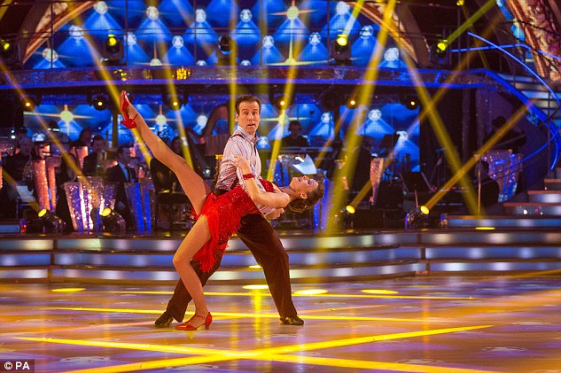 Criticism: Craig was characteristically negative, saying: 'The swivel was non-existent. You looked most uncomfortable the whole dance. I hope your next dance is perfect'