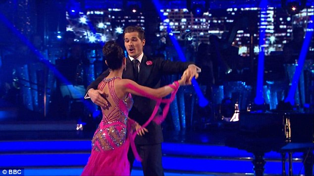 New York, New York! Anita Rani, 37, and her partner Gleb Savchenko continued the show, the pair performing a 1920s-inspired Foxtrot after being saved by the public in the bottom two last week