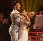 BBC handout photo of Georgia May Foote and Giovanni Pernice during a live show of Strictly Come Dancing. PRESS ASSOCIATION Photo. Picture date: Saturday December 12, 2015. See PA story SHOWBIZ Strictly. Photo credit should read: Guy Levy/BBC/PA Wire  NOTE TO EDITORS: Not for use more than 21 days after issue. You may use this picture without charge only for the purpose of publicising or reporting on current BBC programming, personnel or other BBC output or activity within 21 days of issue. Any use after that time MUST be cleared through BBC Picture Publicity. Please credit the image to the BBC and any named photographer or independent programme maker, as described in the caption.