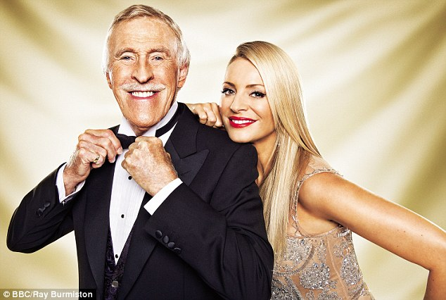 'It would have been so wonderful to have him back for Christmas, but I just want him to get better. We keep in touch all the time and he's doing really well,' said Tess of her former co-host, Bruce Forsyth