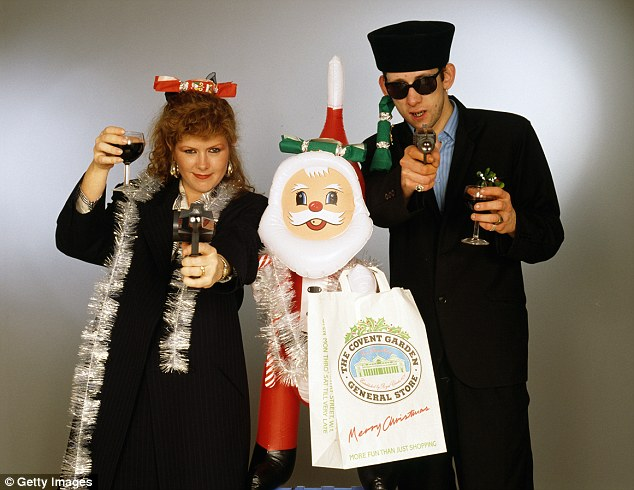 Kirsty MacColl joined The Pogues to record Fairytale Of New York, which charted at No 2 in 1987