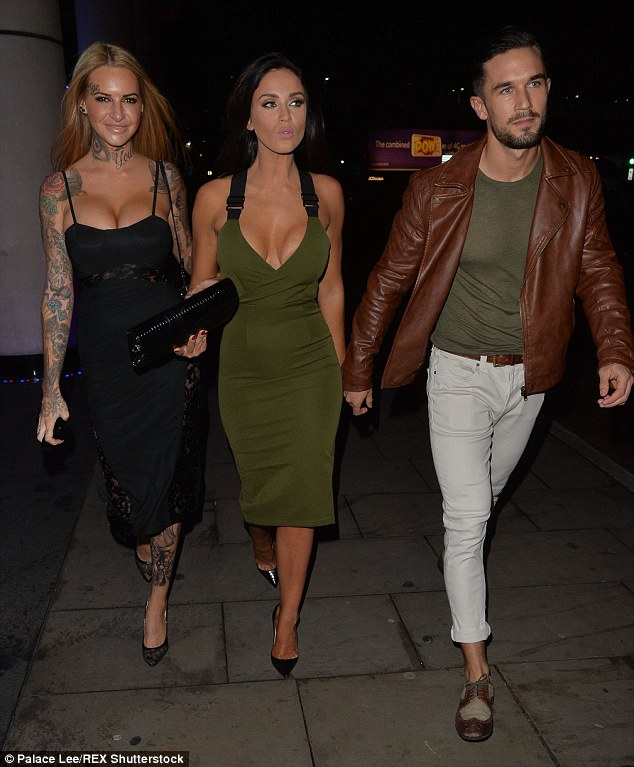 Night out! Vicky Pattison was seen partying forFarah Sattaur's birthday at Gilgamesh in London on Friday night