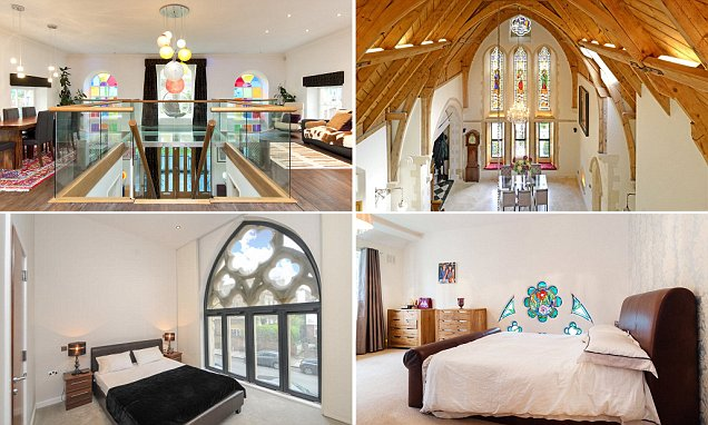 Would living in a chapel spook you? Our top church conversions here