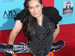 'American Horror Story: Freak Show' Los Angeles Premiere.....Pictured: Rose Siggins..Ref: SPL858816  051014  ..Picture by: Sonia Hall/Splash News....Splash News and Pictures..Los Angeles: 310-821-2666..New York: 212-619-2666..London: 870-934-2666..photodesk@splashnews.com..