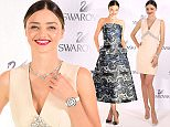 TOKYO, JAPAN - DECEMBER 13:  Australian supermodel/designer Miranda Kerr holds a press conference for her jewelry collection launch at Swarovski Ginza store on December 13, 2015 in Tokyo, Japan.  (Photo by Jun Sato/WireImage)