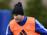 Chelsea FC via Press Association Images MINIMUM FEE 40GBP PER IMAGE - CONTACT PRESS ASSOCIATION IMAGES FOR FURTHER INFORMATION. Chelsea's Branislav Ivanovic during a training session at the Cobham Training Ground on 11th December 2015 in Cobham, England.