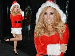 pascal craymer attends a christmas party in essex dressed as sexy santa