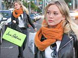 Picture Shows: Hilary Duff  December 12, 2015\n \n Singer and actress Hilary Duff was spotted out shopping in Beverly Hills, California.  She had bags from Sam Edelman and William Sonoma. \n \n Non-Exclusive\n UK Rights Only\n \n Pictures by : FameFlynet UK © 2015\n Tel : +44 (0)20 3551 5049\n Email : info@fameflynet.uk.com