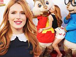 """LOS ANGELES, CA - DECEMBER 12:  Actress Bella Thorne arrives at the premiere of 20th Century Fox's """"Alvin And The Chipmunks: The Road Chip"""" at Zanuck Theater at 20th Century Fox Lot on December 12, 2015 in Los Angeles, California.  (Photo by Gregg DeGuire/WireImage)"""