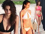 Picture Shows: Taylor Hill  December 10, 2015\n \n Victoria's Secret model Taylor Hill shows off her bikini body during a beach photo shoot in St. Barts.\n \n Non-Exclusive\n UK RIGHTS ONLY\n \n Pictures by : FameFlynet UK © 2015\n Tel : +44 (0)20 3551 5049\n Email : info@fameflynet.uk.com