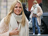 EXCLUSIVE: Heidi Klum steps out wearing a pink fluffy coat and Gucci NY Handbag, NYC\n\nPictured: Heidi Klum\nRef: SPL1193178  121215   EXCLUSIVE\nPicture by: Splash News\n\nSplash News and Pictures\nLos Angeles: 310-821-2666\nNew York: 212-619-2666\nLondon: 870-934-2666\nphotodesk@splashnews.com\n