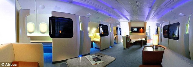 Each carrier can deck out their first class as they see fit, but there won't be many complaints with each