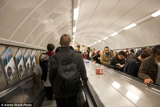 Reddit users from London and beyond complained about those who stand on the wrong side of the escalator