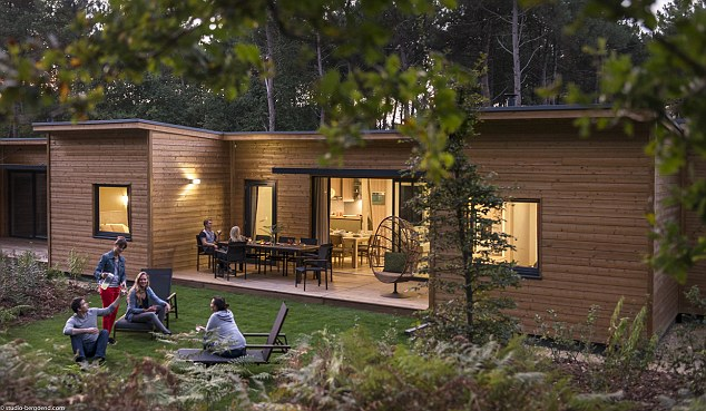 A family of four can save £667 on a four-night break at a French Center Parcs