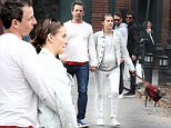 Mandatory Credit: Photo by Startraks Photo/REX Shutterstock (5491319d)\n Seth Meyers, Alexi Ashe\n Seth Meyers out and about, New York, America - 12 Dec 2015\n Seth Meyers and pregnant wife Alexi Ashe out in the West Village\n