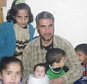 BBC News report about family that drowned whilst trying to cross the Aegean sea near Cesme  between Turkey and Greece. Ali Al Saho ( spelling unsure ) lost his 7 children and wife in tragedy; he is pictured with his children. MUST CREDIT BBC