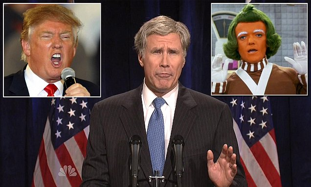 Will Ferrell's George Bush SNL skit aims at Donald Trump and Republican candidates