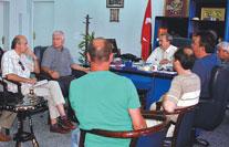 Edremit'te toplantı  fiyaskosu yaşandı