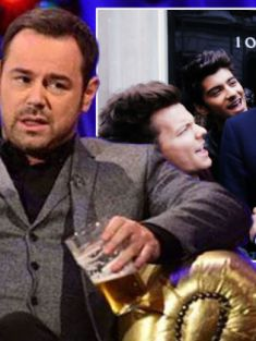 'Drunk' Danny Dyer allegedly lets rip at David Cameron and 1D in 'chaotic' Chatty Man show