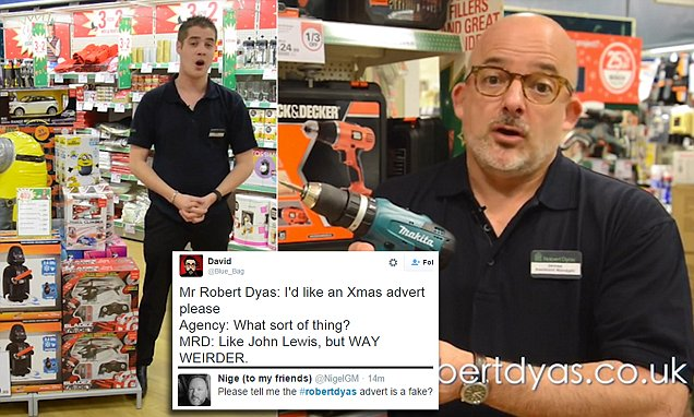 Robert Dyas Christmas advert where staff reveal their sexuality