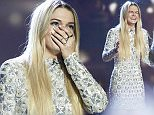 *** MANDATORY BYLINE TO READ: Syco / Thames / Corbis *** The X Factor Series Finals, London, United Kingdom - 13 December 2015  Pictured: Louisa Johnson, Rita Ora Ref: SPL1195689  131215   Picture by: Syco/Thames/Corbis/Dymond