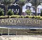 "A sign is seen after which the words ""Trump International Golf Club"" were reaffixed after being removed on Thursday, at the AKOYA by DAMAC development in Dubai December 12, 2015. The Dubai real estate firm DAMAC Properties, which is building a $6 billion golf complex with Donald Trump on Thursday stripped the property of his name and image amid a backlash over the U.S. presidential candidate's proposal to ban all Muslims from entering the U.S.   REUTERS/Stringer         FOR EDITORIAL USE ONLY. NO RESALES. NO ARCHIVE."
