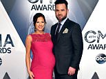 NASHVILLE, TN - NOVEMBER 04:  Musical artist David Nail (R) and Catherine Werne attend the 49th annual CMA Awards at the Bridgestone Arena on November 4, 2015 in Nashville, Tennessee.  (Photo by John Shearer/WireImage)