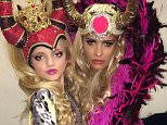 katie price and daughter panto