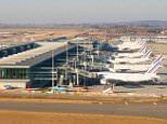 AT7ADT Charles de Gaulle Airport Terminal 2E, Paris, France (CDG)