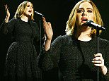 *** MANDATORY BYLINE TO READ: Syco / Thames / Corbis ***\nThe X Factor Series Finals, London, United Kingdom - 13 December 2015\n\nPictured: Adele\nRef: SPL1195677  131215  \nPicture by: Syco/Thames/Corbis/Dymond\n\n