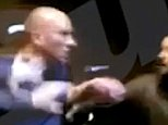 Shock moment Premier League goalkeeper John Ruddy is caught on camera in row