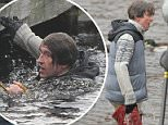 Steve Coogan playing Alan Partridge filming a Christmas special  in at a remote location on Dovestone Reservoir in The Peak District \n\n11/12/2015\n\n***EXCLUSIVE ALL ROUND***