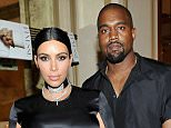 """TV personality Kim Kardashian (L) and recording artist Kanye West attend the CFDA/Vogue Fashion Fund Dinner at Bouchon Beverly Hills on October 20, 2015 in Beverly Hills, California.    Kim Kardashian has given birth to a baby boy, her second child with Kanye West.   FILE - December 05, 2015. BEVERLY HILLS, CA - OCTOBER 20. (Photo by Donato Sardella/Getty Images for CFDA/Vogue)  """"Please note this image forms part of the Getty Premium Access agreement and may incur an additional fee. If reused it must be downloaded from the Getty site"""""""
