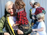 Gwen Stefani takes her kids for lunch, Son Kingston was holding a small parrot bird as they walk in the restaurant in Los Angeles.\n\nPictured: Gwen Stefani,Kingston\nRef: SPL1194628  121215  \nPicture by: Clint Brewer / TC / Splash News\n\nSplash News and Pictures\nLos Angeles: 310-821-2666\nNew York: 212-619-2666\nLondon: 870-934-2666\nphotodesk@splashnews.com\n