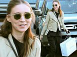 West Hollywood, CA - Rooney Mara gets embarrassed as she is swarmed by paparazzi just as the TMZ tour bus pulls up aside her as she is getting in her car. As the Golden Globe nominee got to her car she stated 'This is Embarrassing' with a cute smile.\nAKM-GSI   December  12, 2015\nTo License These Photos, Please Contact :\nSteve Ginsburg\n(310) 505-8447\n(323) 423-9397\nsteve@akmgsi.com\nsales@akmgsi.com\nor\nMaria Buda\n(917) 242-1505\nmbuda@akmgsi.com\nginsburgspalyinc@gmail.com