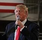DES MOINES, IA-DECEMBER 11: Republican Presidential Candidate Donald Trump speaks at a town hall style campaign rally at the Varied Industries Building at Iowa State Fair Grounds on December 11, 2015 in Des Moines, Iowa.  Recent polls continue  to show Trump holding a lead in the race for the Republican nomination for President.   (Photo by Steve Pope/Getty Images