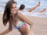 December 10, 2015: Model Josephine Skriver does a sexy bikini photoshoot for Victoria's Secret on the beach in St. Barth's.\nMandatory Credit: INFphoto.com Ref: infusmi-11/13
