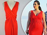 Kim Kardashian shows off her pregnancy bump in a tight red dress on board a yacht with Kourtney Kardashian in Greece during their family vacation. Kim had been sightseeing in the Agean sea along with the rest of the group and even laughed while pointing out the fans looking at them as they filmed their reality show. \\n\\nPictured: Kim Kardashian and Kourtney Kardashian\\nRef: SPL534013  280413  \\nPicture by: DFWM/ Brian Prahl / Splash News\\n\\nSplash News and Pictures\\nLos Angeles:\\t310-821-2666\\nNew York:\\t212-619-2666\\nLondon:\\t870-934-2666\\nphotodesk@splashnews.com\\n