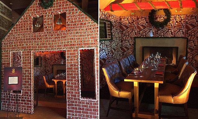 Ritz-Carlton Dove Mountain creates life-size gingerbread house