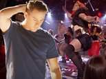 ****Ruckas Videograbs****  (01322) 861777\n*IMPORTANT* Please credit Spike for this picture.\n15/11/15\nSEEN HERE: Channing Tatum as Beyonce\nGrabs from the new trailer for the upcoming second season of the hit US show, Lip Sync Battle. Included in the trailer, we see Channing Tatum being Beyonce, Christina Aguilera helping out Hayden Panettiere and Gigi Hadid singing with the Bakstreet Boys.\nOffice  (UK)  : 01322 861777\nMobile (UK)  : 07742 164 106\n**IMPORTANT - PLEASE READ** The video grabs supplied by Ruckas Pictures always remain the copyright of the programme makers, we provide a service to purely capture and supply the images to the client, securing the copyright of the images will always remain the responsibility of the publisher at all times.\nStandard terms, conditions & minimum fees apply to our videograbs unless varied by agreement prior to publication.
